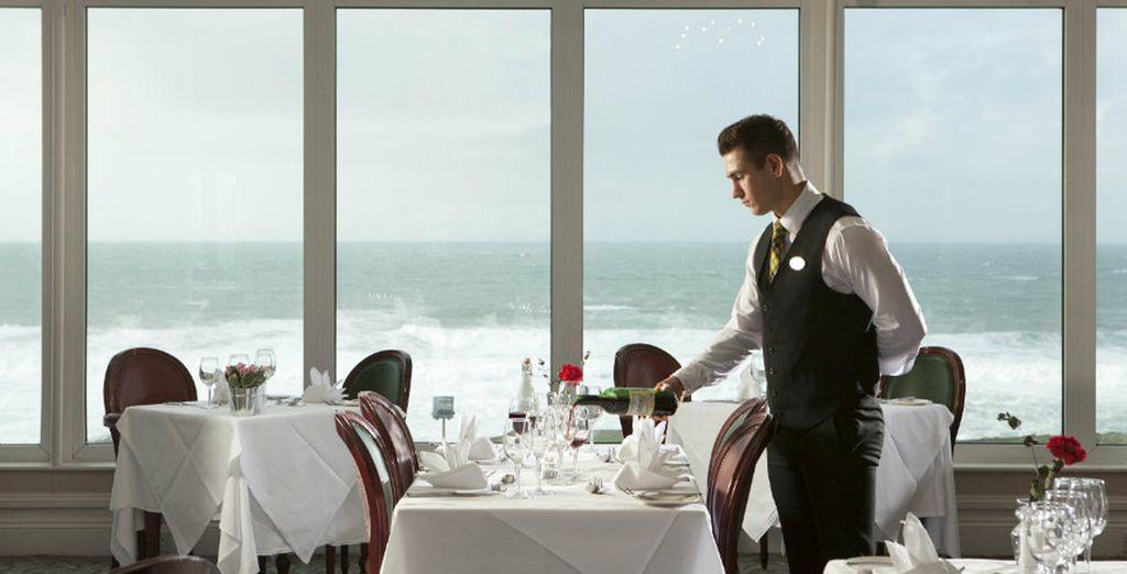 Samphire is the two-rosette awarded modern dining restaurant