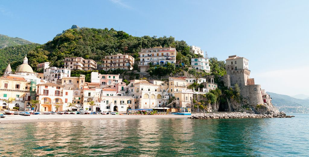 Why not take an optional excursion? Visit the stunning Amalfi Coast