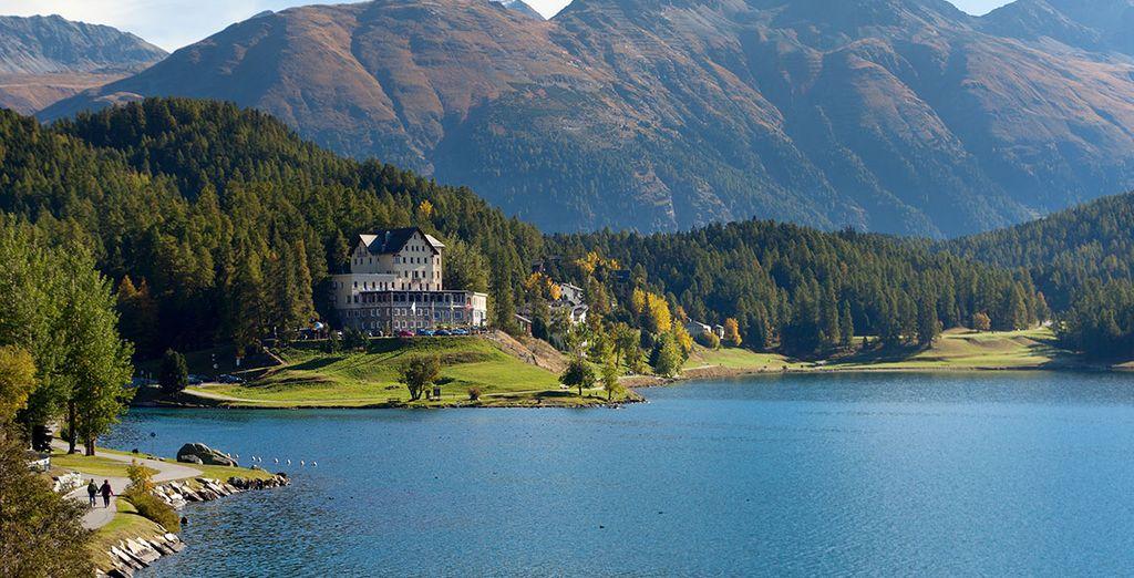 Witness the splendour of St Moritz