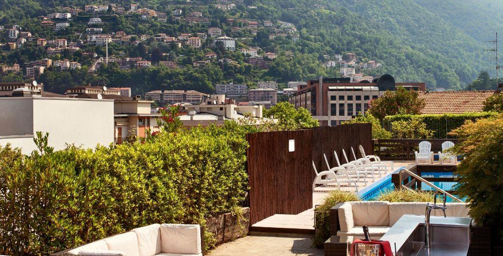 Alongside fantastic facilities (pictured: Hotel Como)