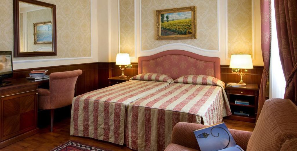 Enjoy classic design and great hospitality (pictured: Hotel Simplon)