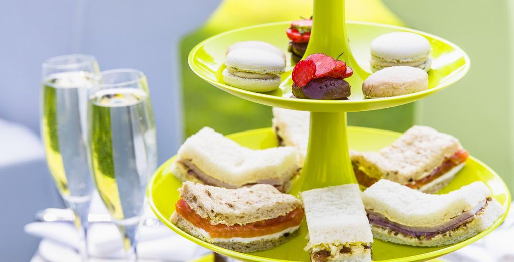 Or opt for Afternoon Tea for a quintessentially British treat