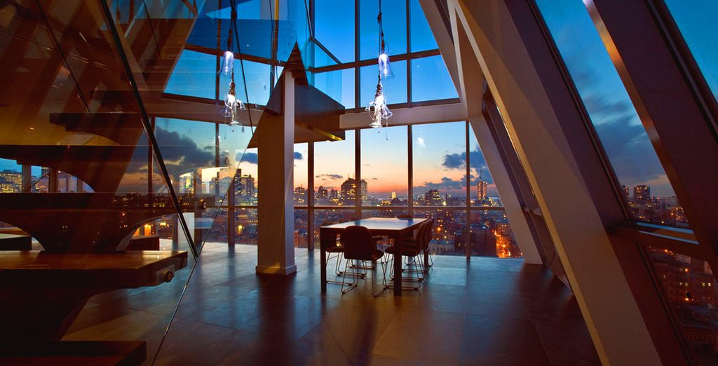 Enjoy magnificent views over this remarkable city - Hotel on Rivington 4* New York
