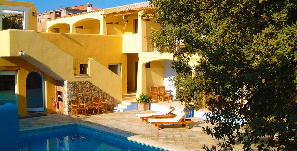 In the peaceful, laid back Papillo Resort Borgo Antico - Papillo Resort Borgo Antico 4* San Pantaleo