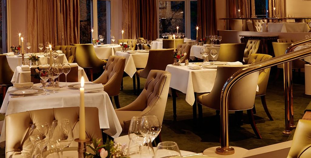 Enjoy a 3-course dinner on one evening, on us!