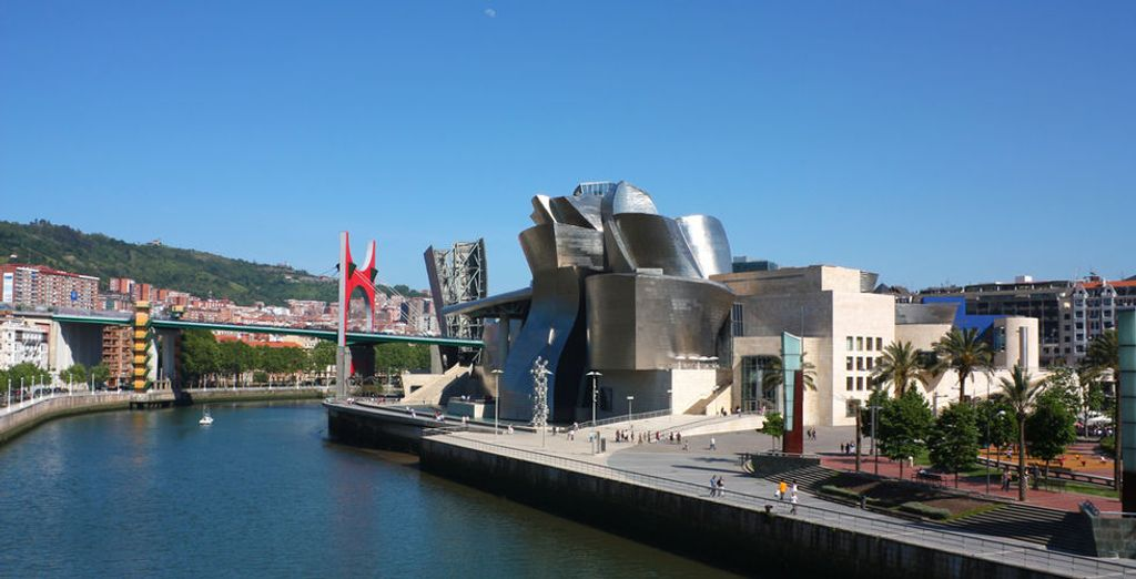 Located in prime position facing the Guggenheim Museum