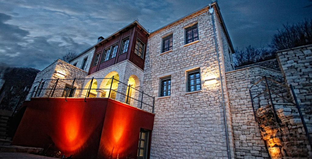 Boutique Pirrion hotel - right in the heart of a traditional village