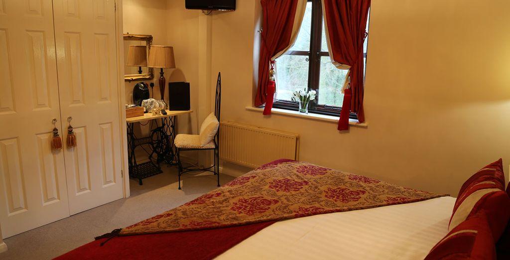 Providing plush furnishings and a cosy feel