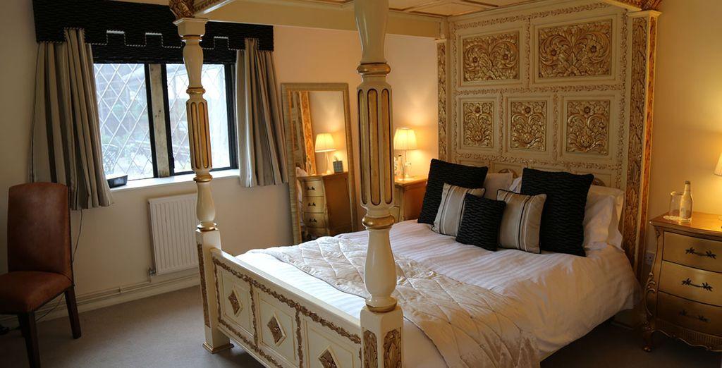 Boasting delightful furnishings