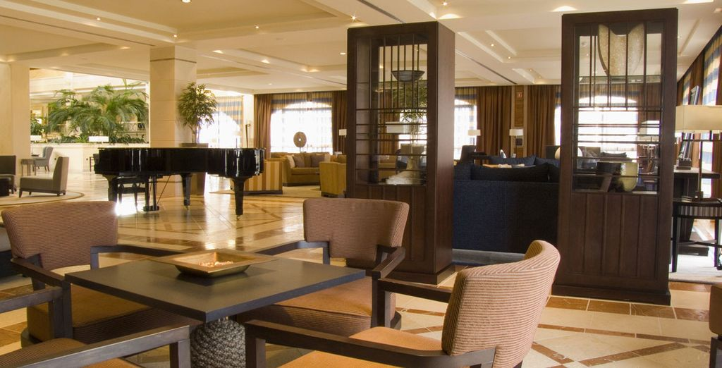 And return to relax in the chilled out piano bar