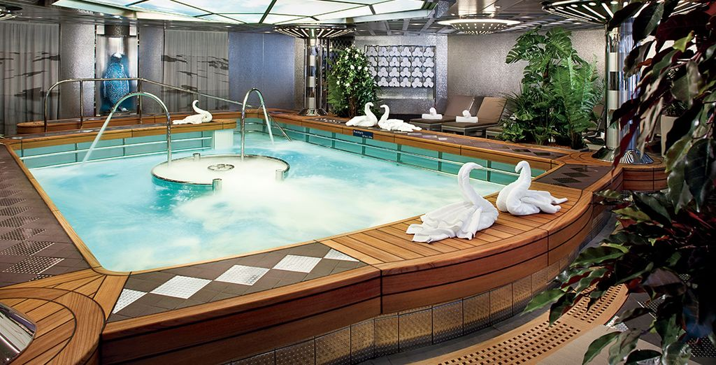 Take a dip in the hydrotherapy pool
