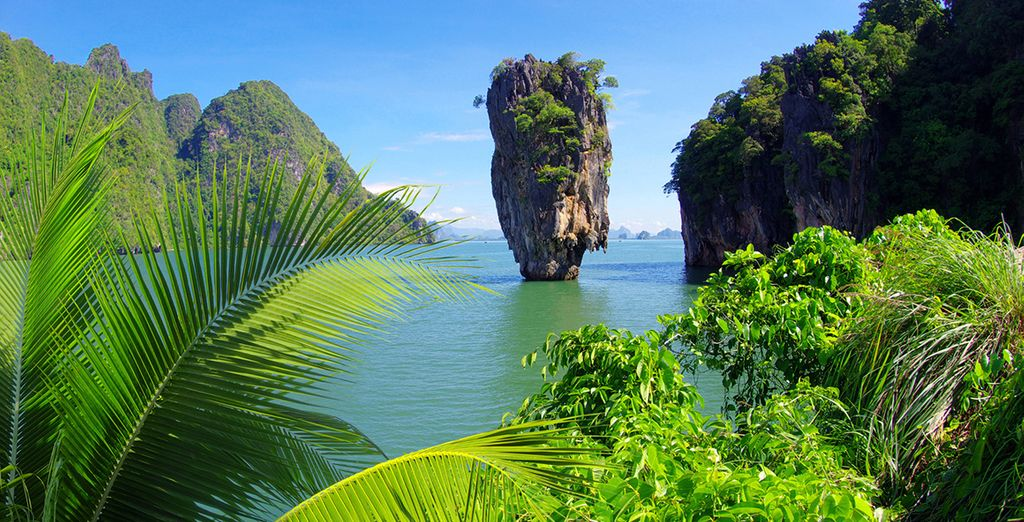To the famed James Bond island