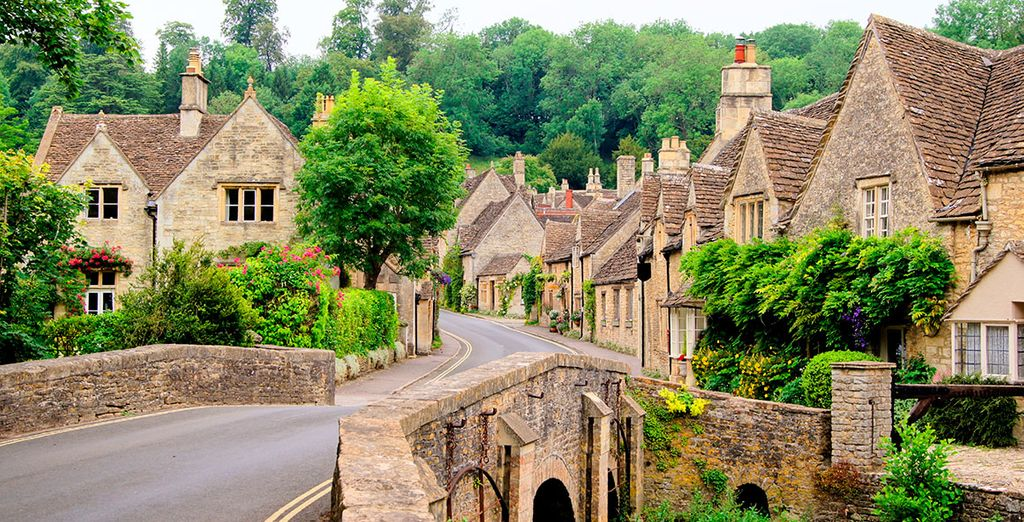 Welcome to the Cotswolds - discover quaint villages hidden amongst the rolling hills