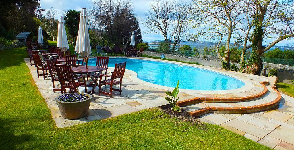 Enjoy a dip in the pool