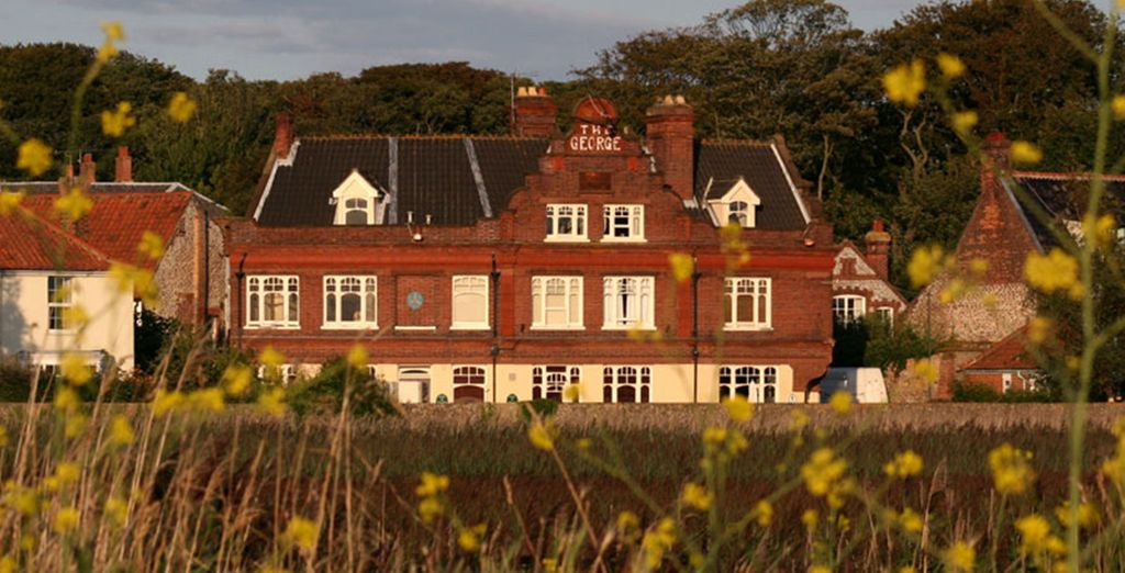 The George at Cley dates back to the 18th century