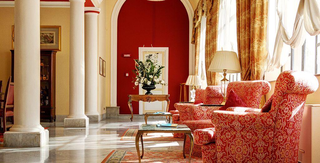 Featuring plush, elegant interiors