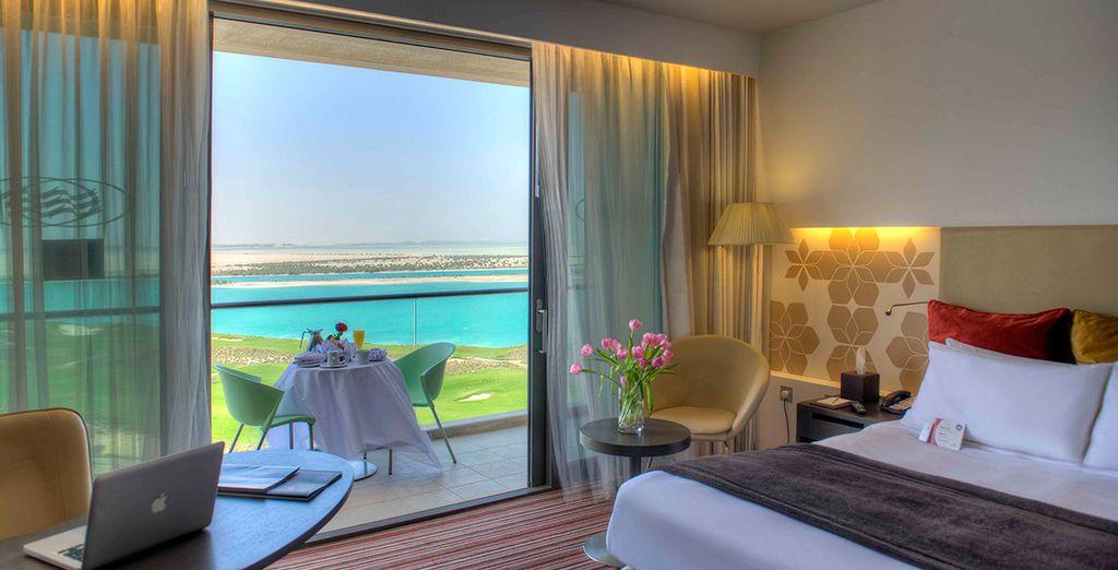 Enjoy your deluxe sea view room