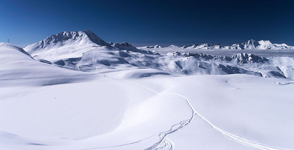 This expanse of slopes is waiting for you to make your mark!