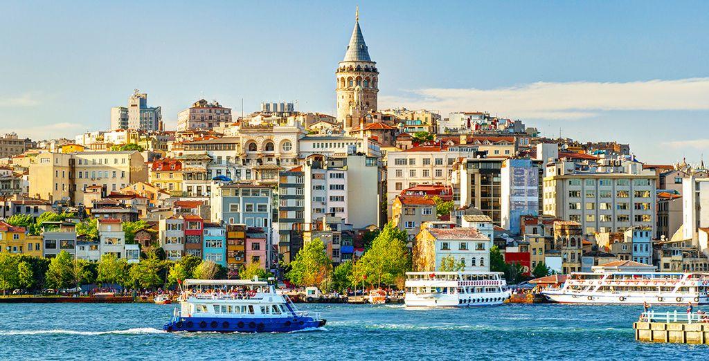 Follow us to Turkey ...