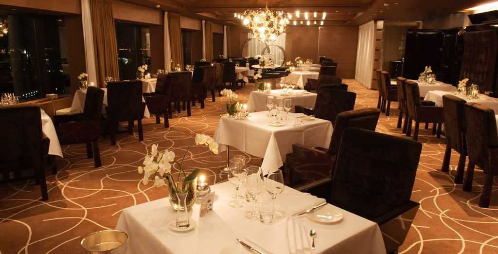 Each with a different atmosphere, yet all offering a gourmet experiece