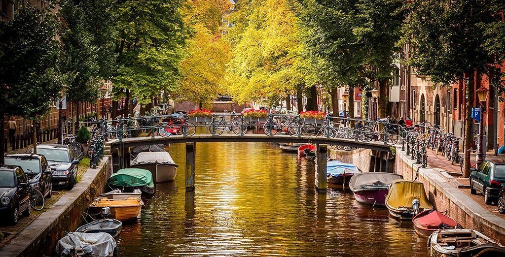 Explore the city's criss-crossing canals - a UNESCO World Heritage Site