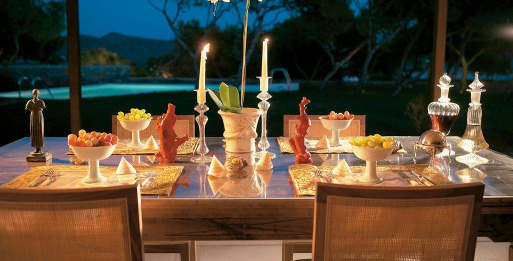 Enjoy a variety of gourmet restaurants
