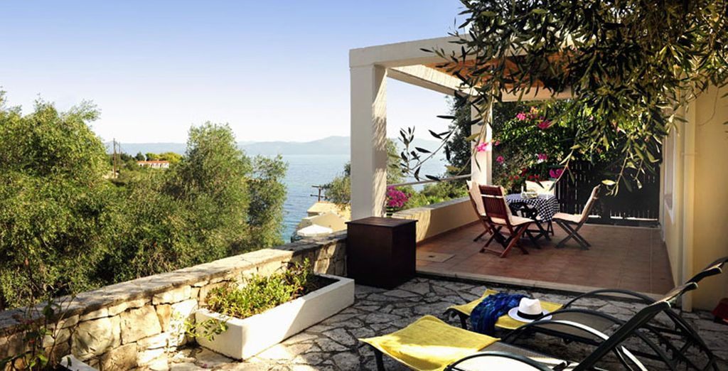 From your peaceful villa - Kantada Villas Paxos