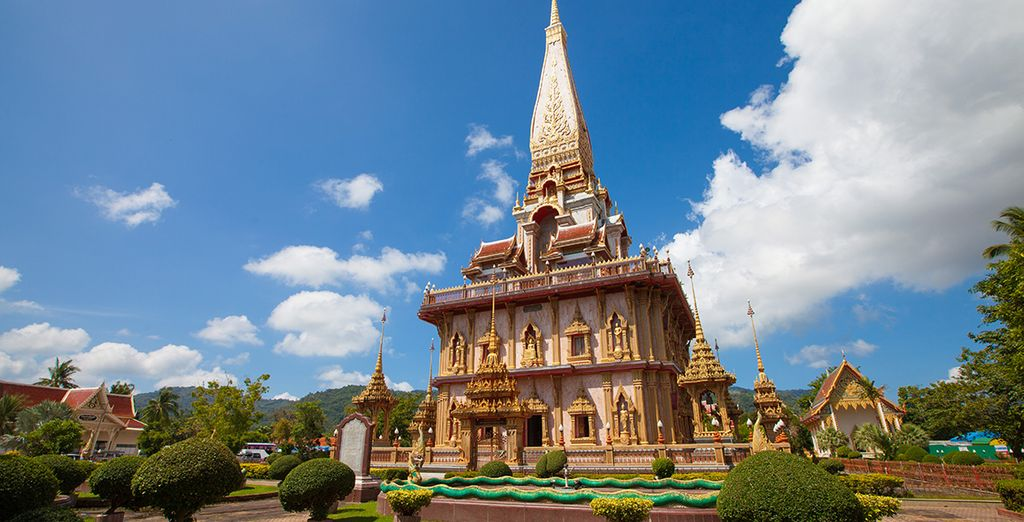 Explore nearby temples such as Wat Chalong (10 miles)