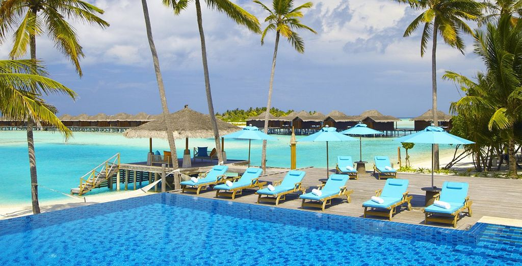 Take a cooling dip in the tranquil pool