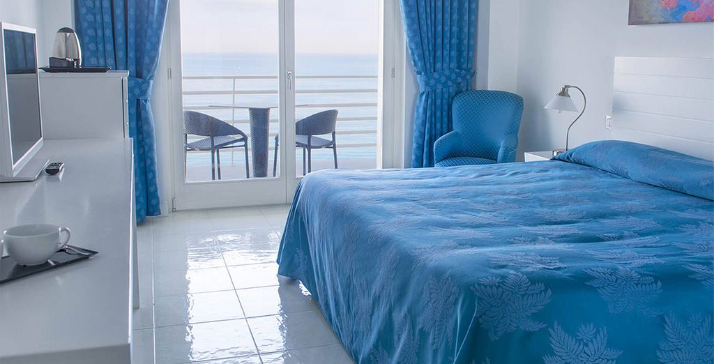 You will stay in a Superior Sea View Room