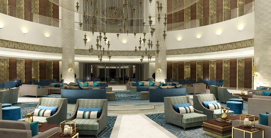 Lavish decor can be found in abundance