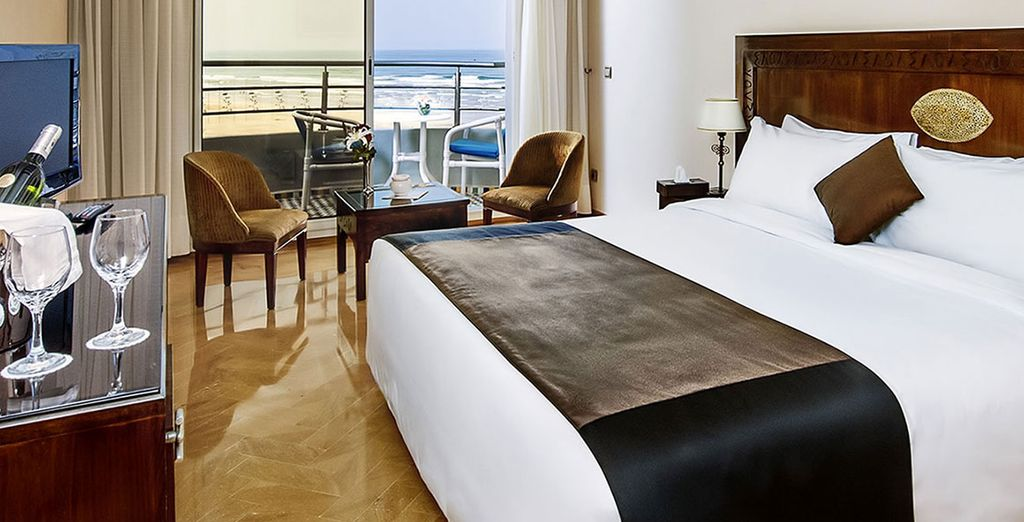 So you can be assured of a great night's sleep after the day's adventures  (Val d'Anfa Hotel Club)