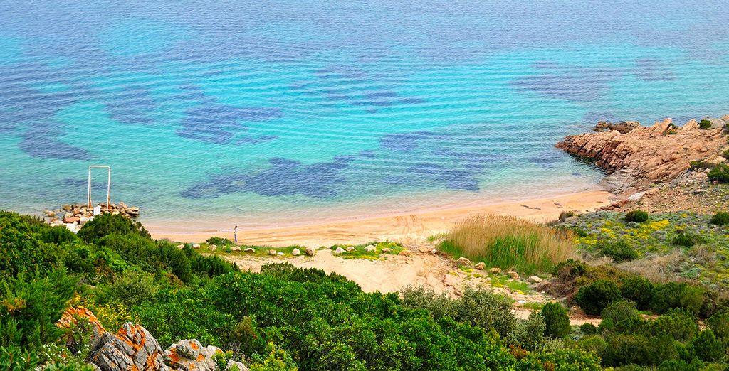 The coast of Sardinia