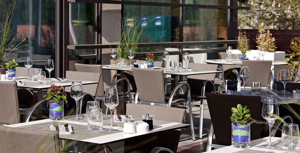 A gourmet bistro-inspired restaurant