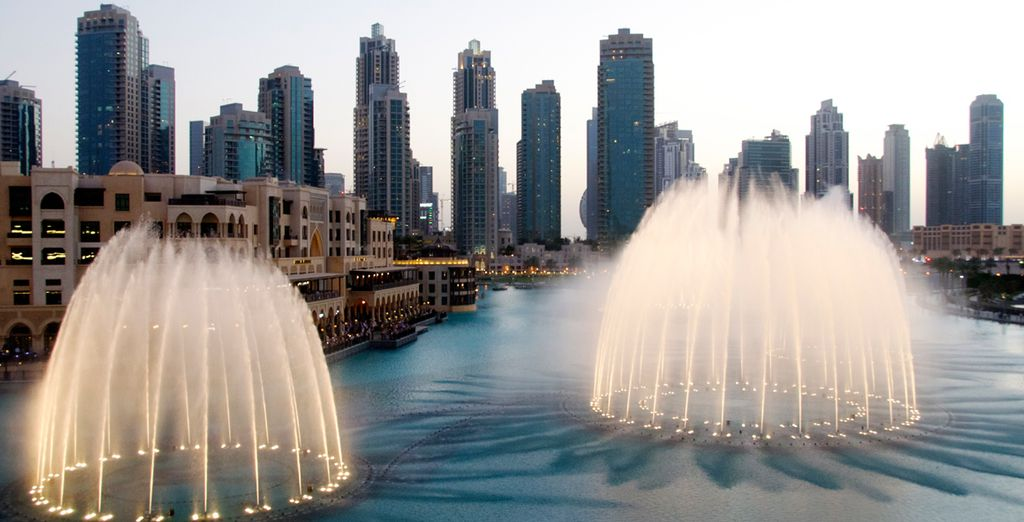 Experience extravagance in the centre of Dubai