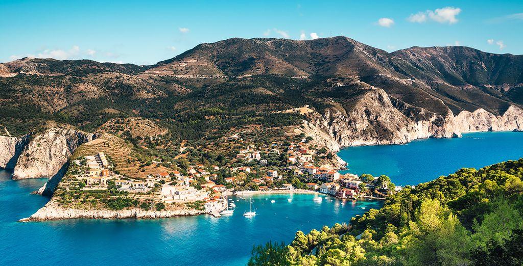 Head out and explore the Kefalonia coastline