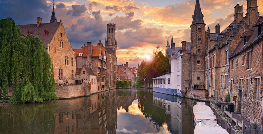 The charming canals of Bruges are waiting to be explored
