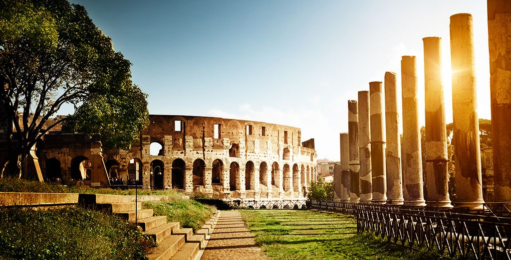Stay in the Eternal City!