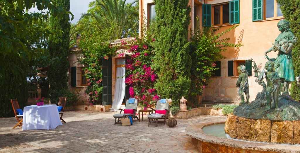 Art meets nature in this rustic Mallorcan resort