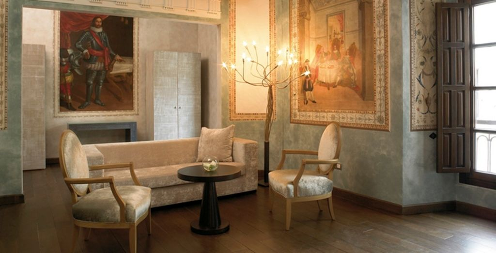 The interiors are elegant and sumptous