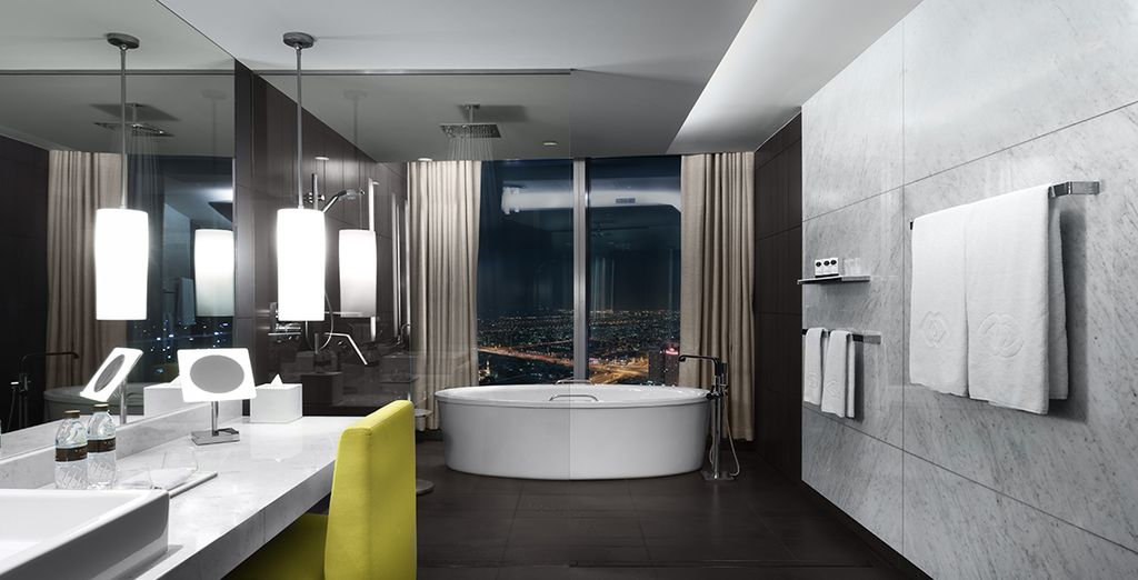 Which has stunning views and exclusive benefits
