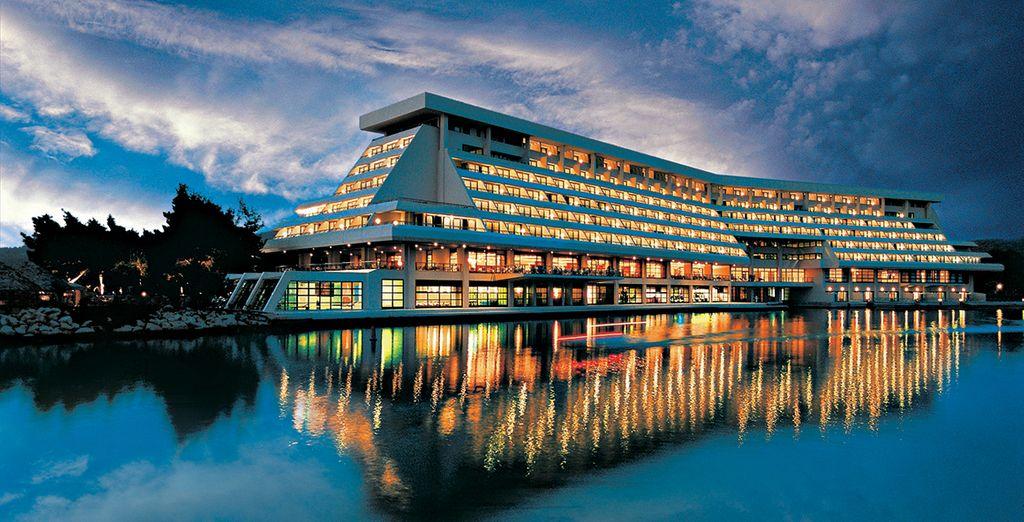 To this modern spa resort - Porto Carras Meliton 5* Halkidiki