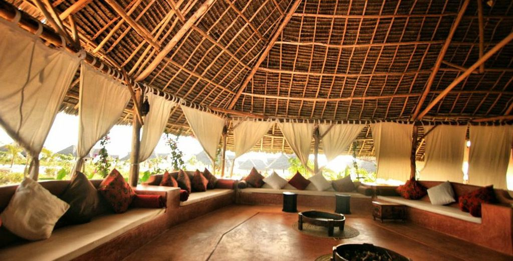 Or relax in the cool Boma