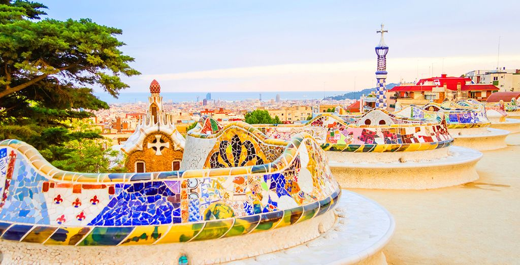 Head out and explore Barcelona!