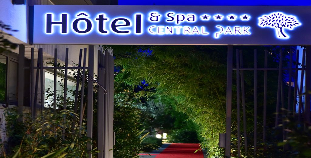 Welcome to Central Park Hotel & Spa!