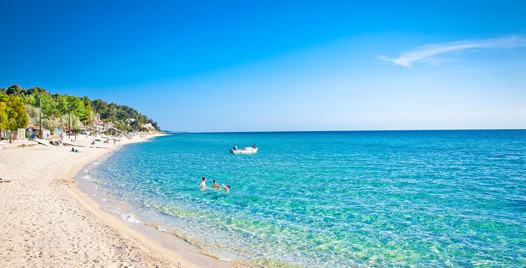 Situated in Halkidiki