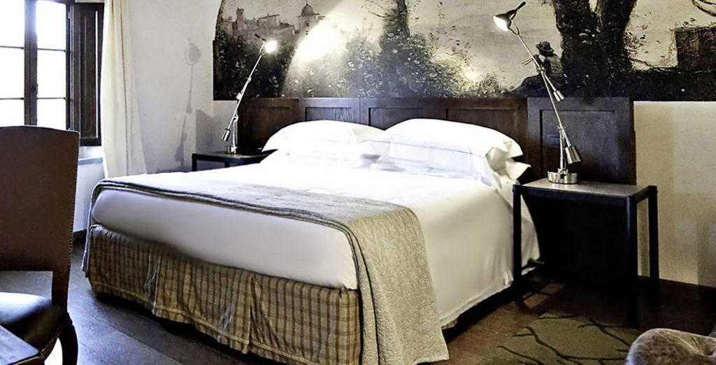 Sleep well in your Deluxe Room