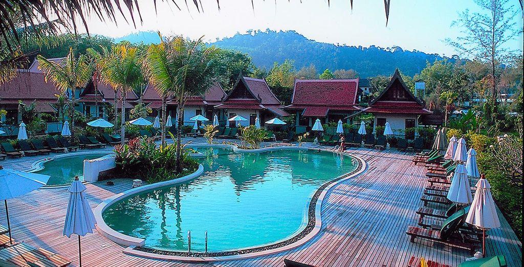 Stay at Khaolak Bhandari Resort & Spa 4*