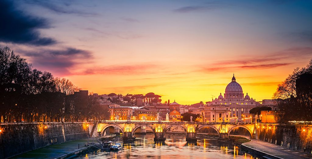 Experience a relaxing, yet cultural stay in Rome