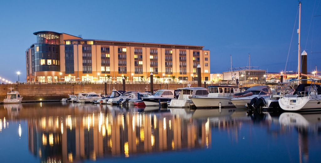 Book a break at this waterfront hotel